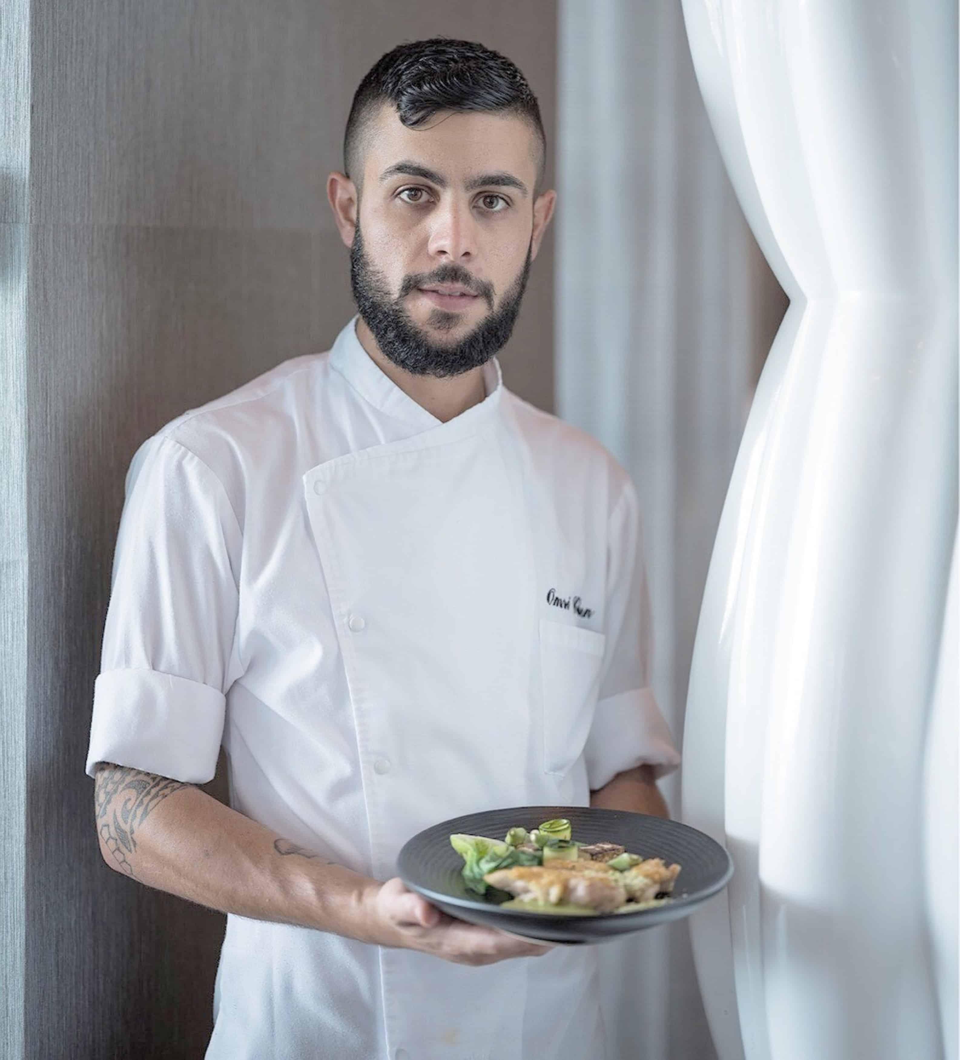שף עומרי כהן. צילום - אנטולי מיכאלו (3)