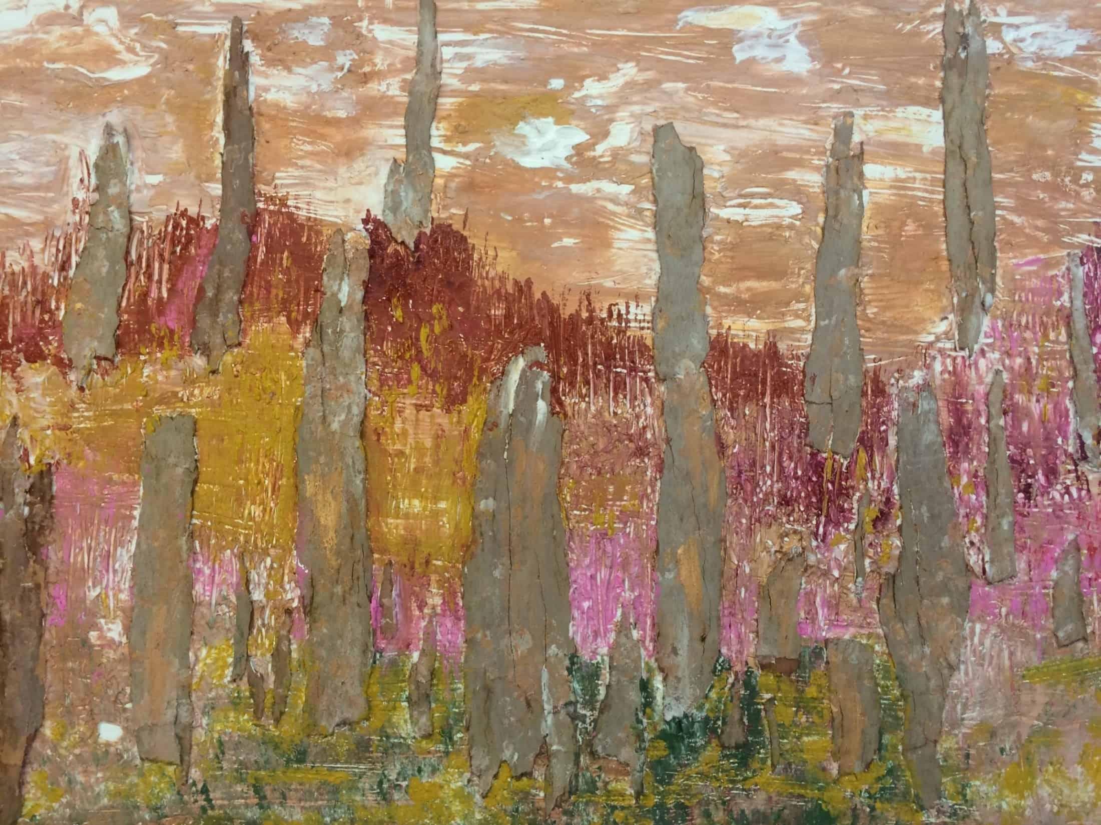 קניון רמת אביב מציג תערוכת אמנים לחודש אוקטובר. האמנית לאה צבעוני. צילום...