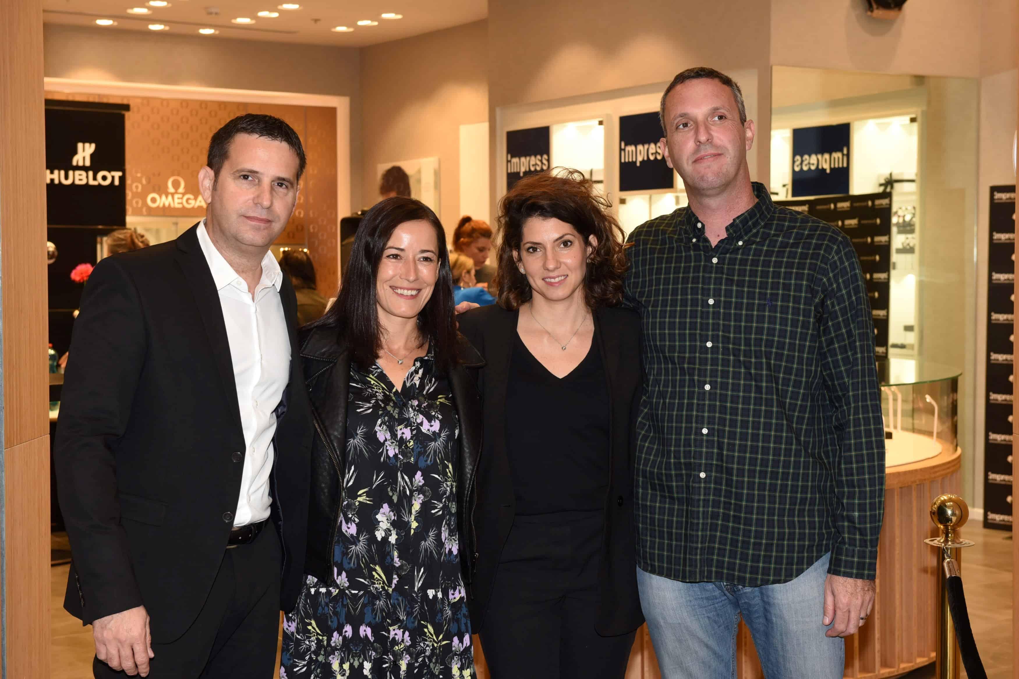 אריק בירנבאום, דניאל רחום, לינדה ריל ואלעד לוי. צילום- אלעד גוטמן (3)