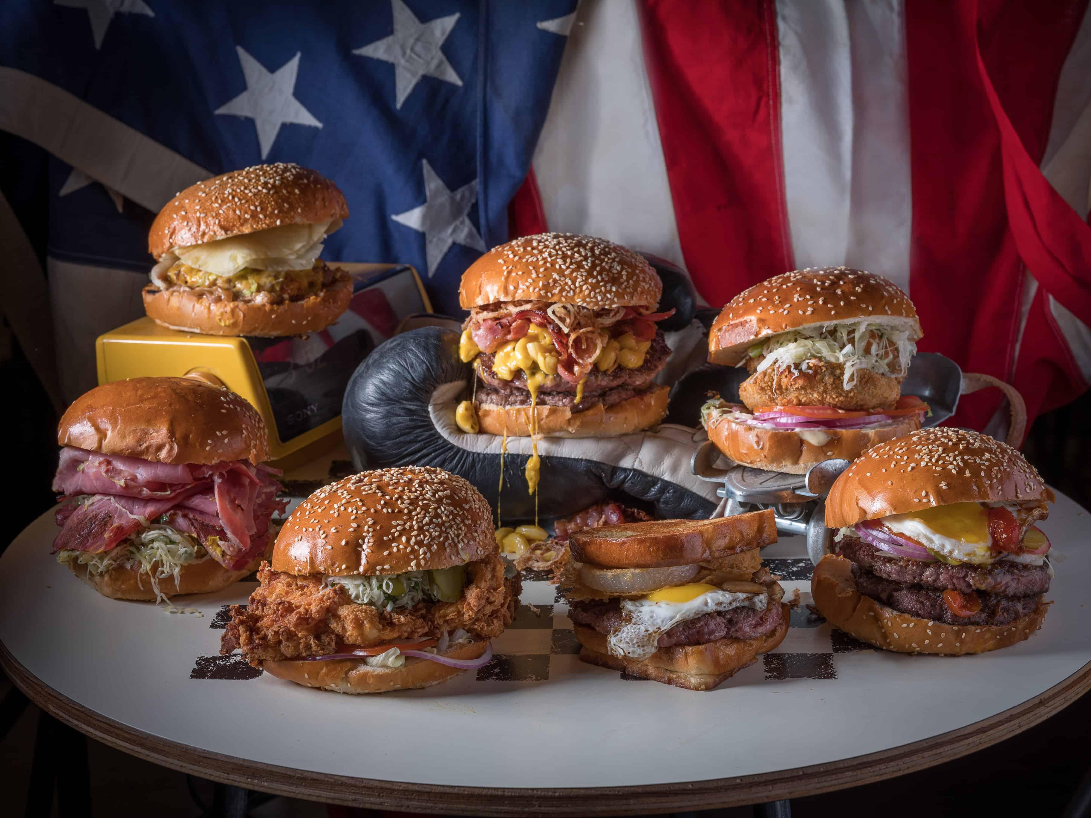 המבורגרים חדשים אמריקה צלם אנטולי מיכאלו