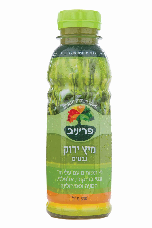 מיץ ירוק נבטים חברת פריניב צילום ענבל הלפרין