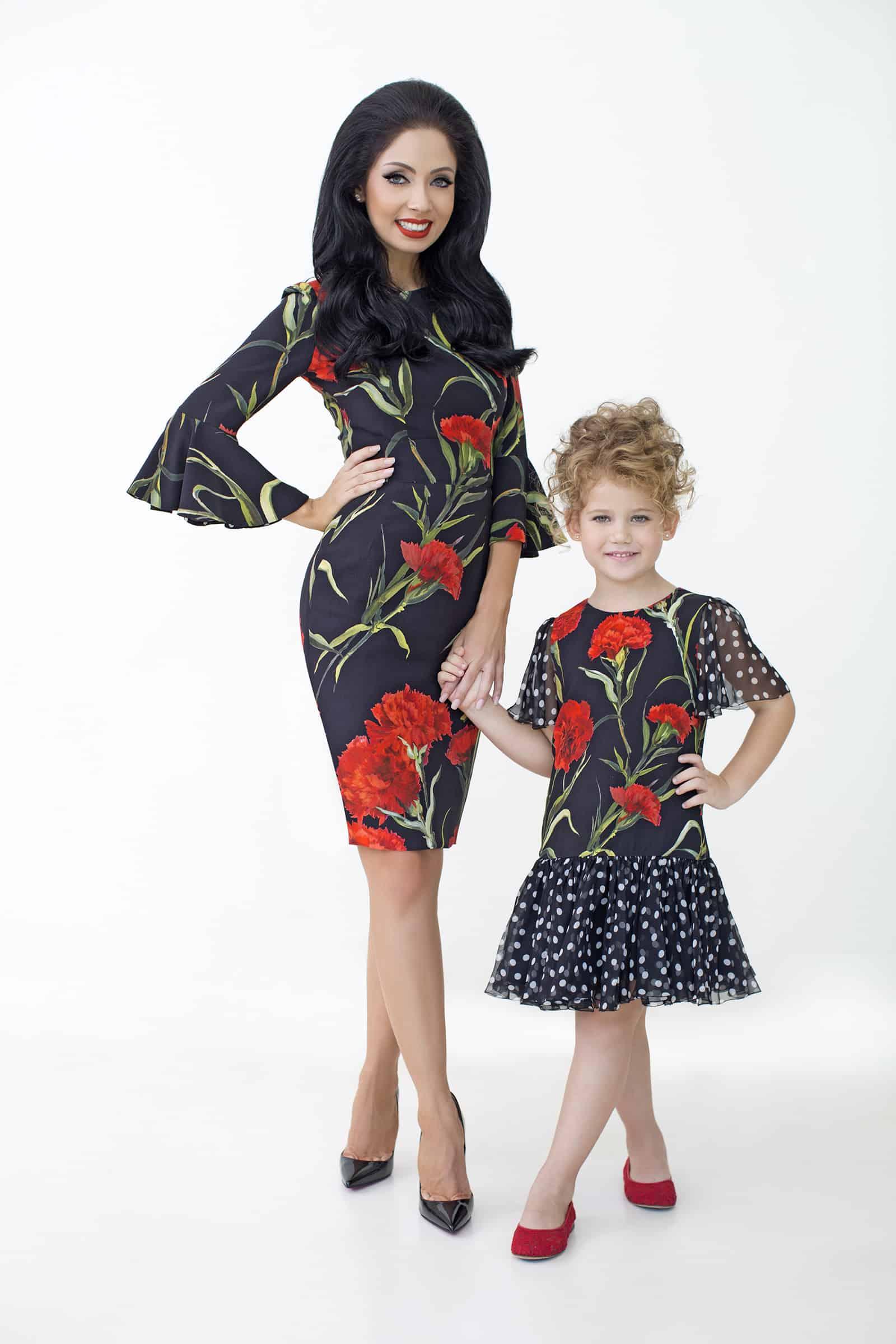 ניקול ראידמן ובתה מישל צילום אלכס ליפקין (9)